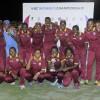 West Indies Women team pose