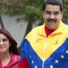 Venezuelan President Nicolas Maduro and first lady Cilia Flores