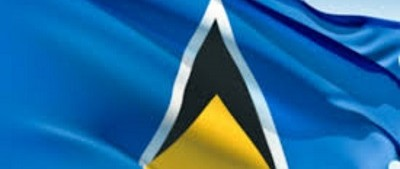 st lucia flags