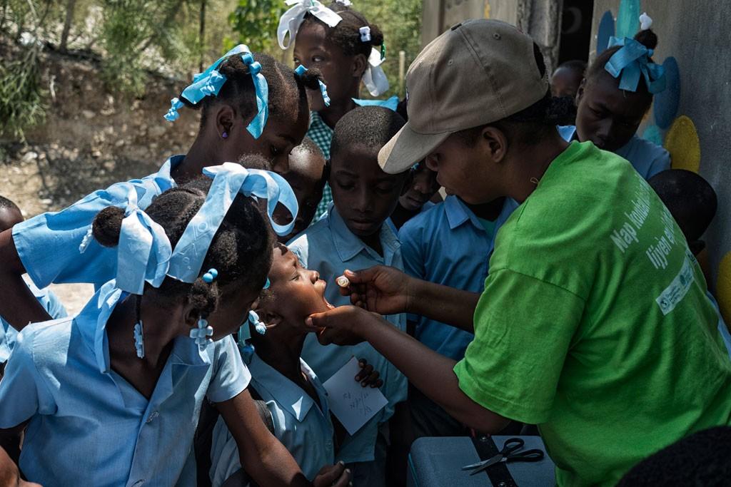 Haiti vaccination