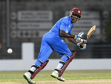 West Indies A all-rounder Rovman Powell.