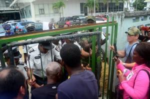 Protest in Suriname