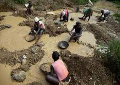 mining Haiti
