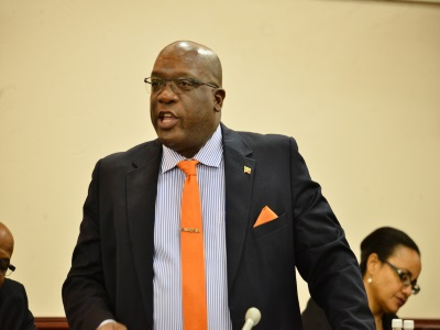 Harris presents 2017 budget