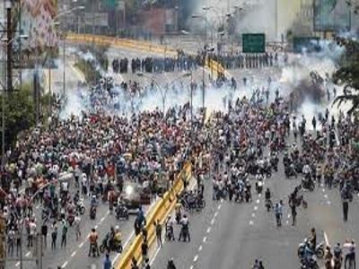 Venezuela fighting