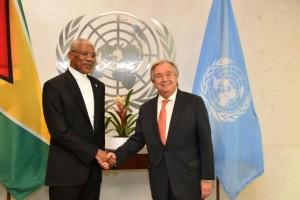 Granger with UN Sec Gen