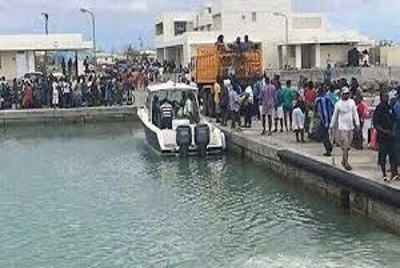 Barbuda evacuation