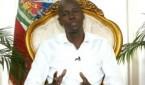 Moise addressing nation