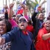 Haiti Florida protest