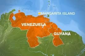 Guyana venezuela border