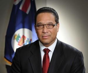 Premier Alden McLaughlin