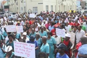 Barbados protest