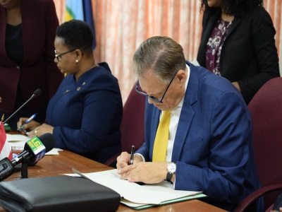 Guyana and Austria sign MOU