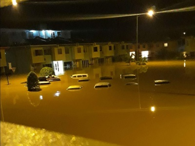 Serious flooding in Trinidad and Tobago