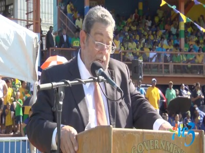 St. Vincent and the Grenadines celebrating 39th anniversary of independence