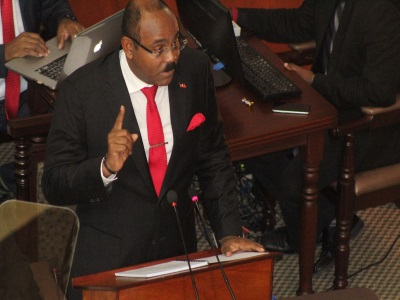 PM Browne presents budget, warns tax dodgers, while Oppostion leader calls it a falure