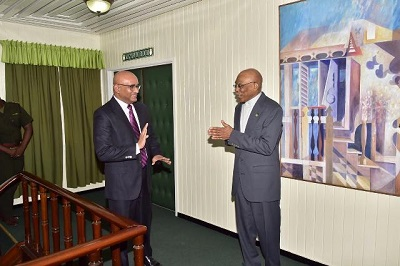 President Granger and Opposition Leader Jagdeo end talks